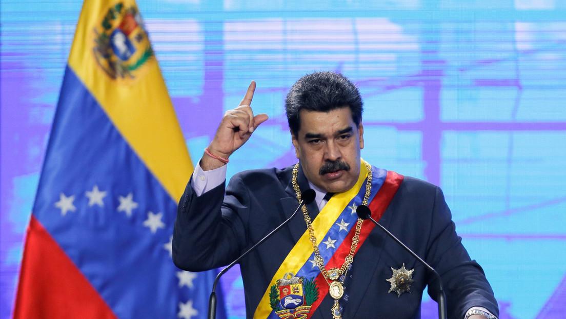 """Maduro denuncia un """"ataque terrorista"""" contra un gasoducto de PDVSA que causó """"un inmenso incendio"""" en el este del país"""