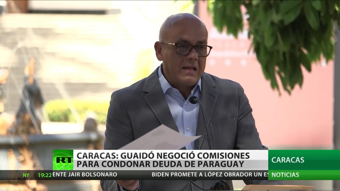 Venezuela pide ayuda a Paraguay, Argentina y España en la investigación contra Guaidó