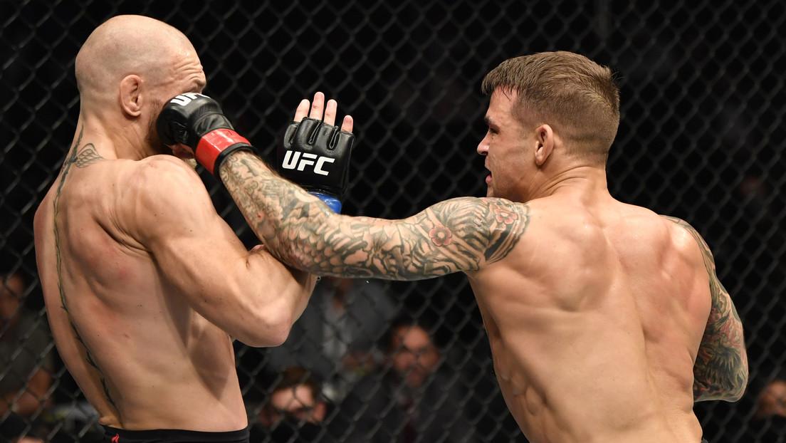 Dustin Poirier noquea a Conor McGregor en el segundo asalto en la UFC 257 (VIDEO)