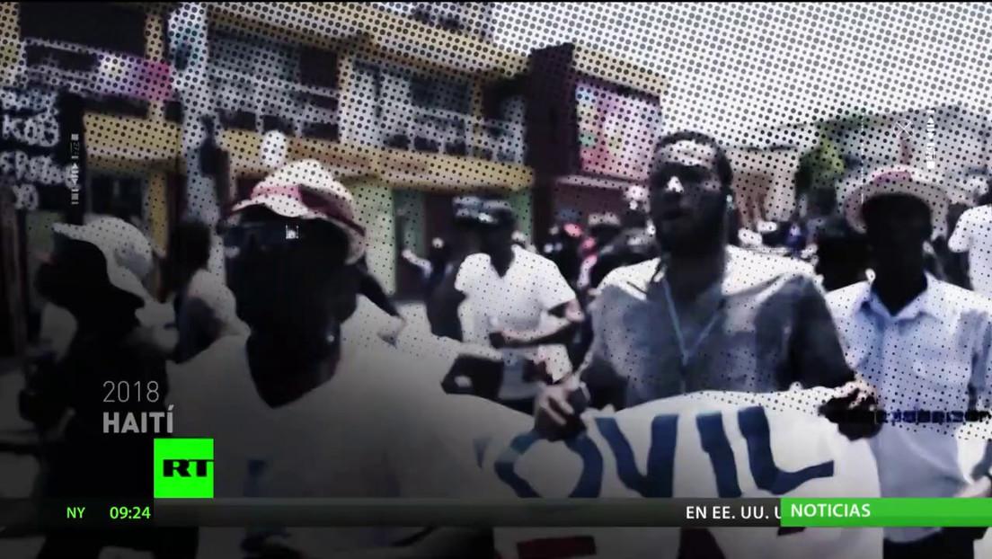Se reanudan las protestas en Haití para exigir la renuncia del presidente