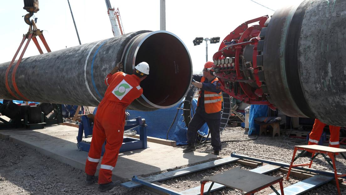 Rusia reanuda en Dinamarca las obras para completar el gasoducto Nord Stream 2