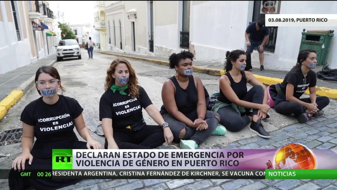 Puerto Rico declara el estado de emergencia por la violencia de género