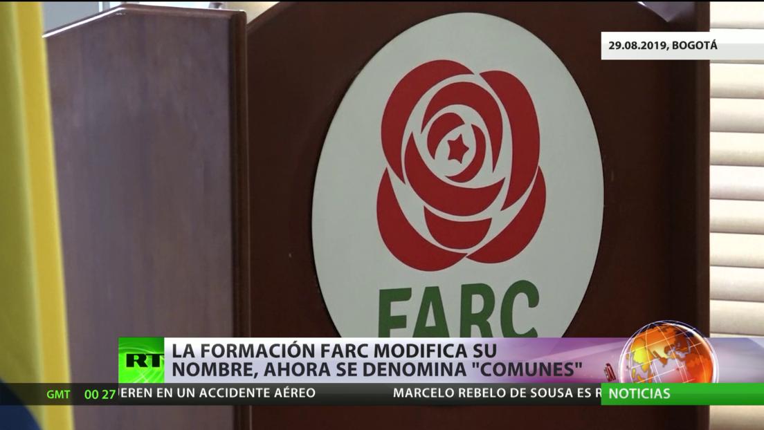 Colombia: El partido surgido de la exguerrilla FARC cambia su nombre por Comunes