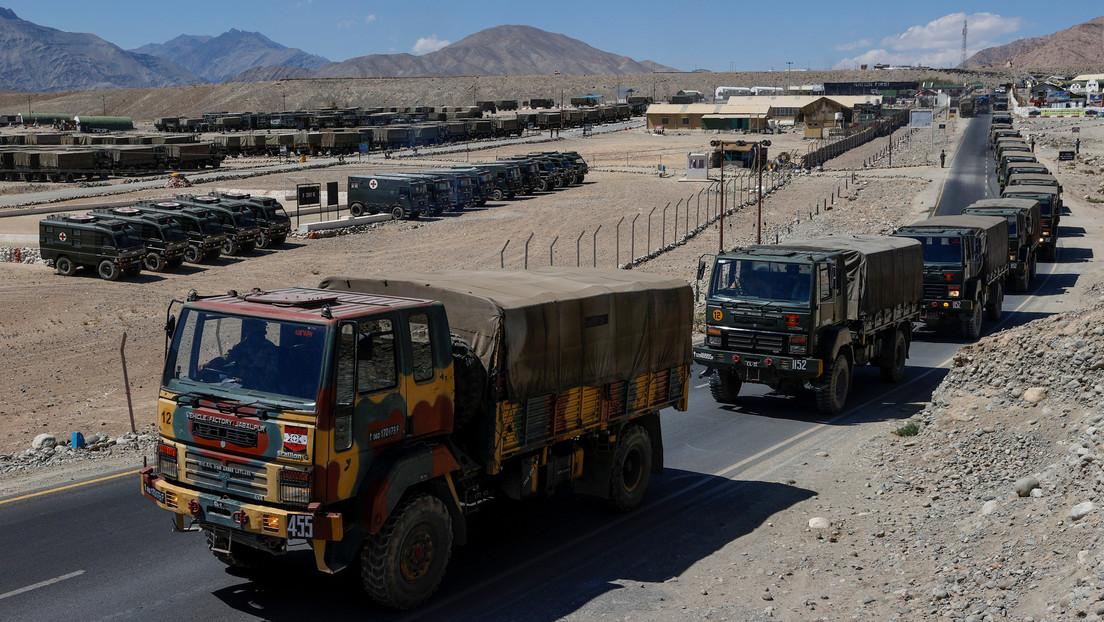 """La India confirma que sus tropas protagonizaron """"un pequeño enfrentamiento"""" con militares chinos en la frontera entre ambos países"""