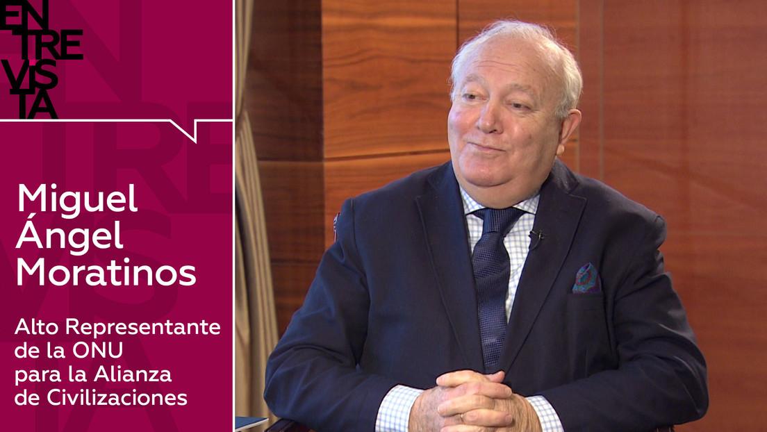 """Miguel Ángel Moratinos, Alto Representante de la ONU para la Alianza de Civilizaciones: """"La tarea es salvar el planeta y crear una sola humanidad"""""""