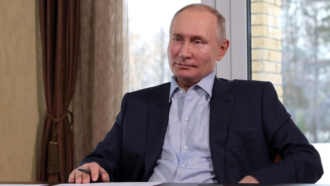 """Putin: """"La situación epidemiológica en Rusia se está estabilizando gradualmente"""""""