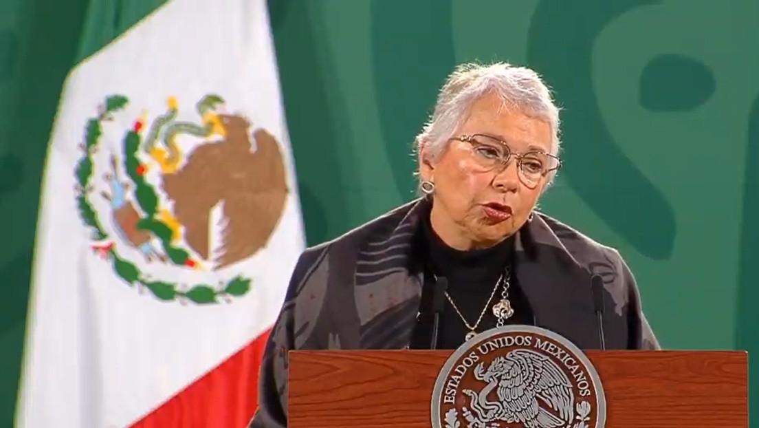 """La secretaria de Gobernación de México: """"López Obrador se encuentra en pleno ejercicio de sus funciones como presidente"""""""