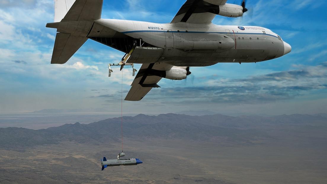 Realizan en EE.UU. una exitosa prueba de un sistema aéreo para transportar drones