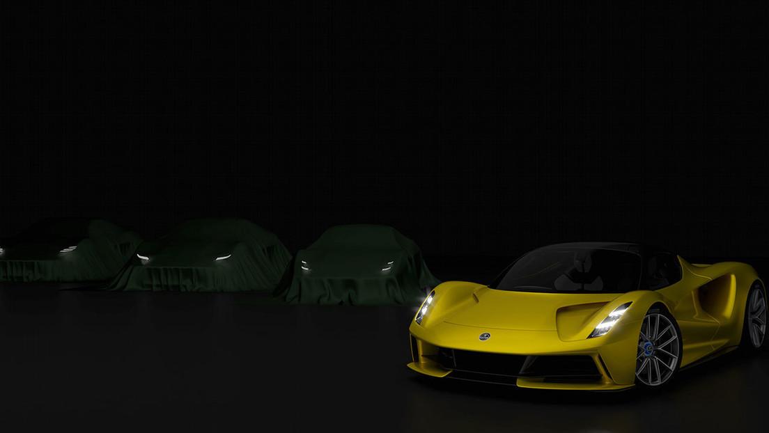 Lotus muestra la primera imagen de su nuevo coche deportivo Type 131