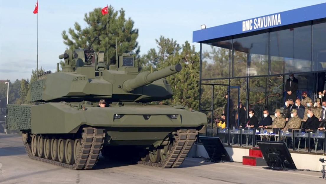 VIDEO: Turquía presenta una versión mejorada de su principal tanque de batalla híbrido