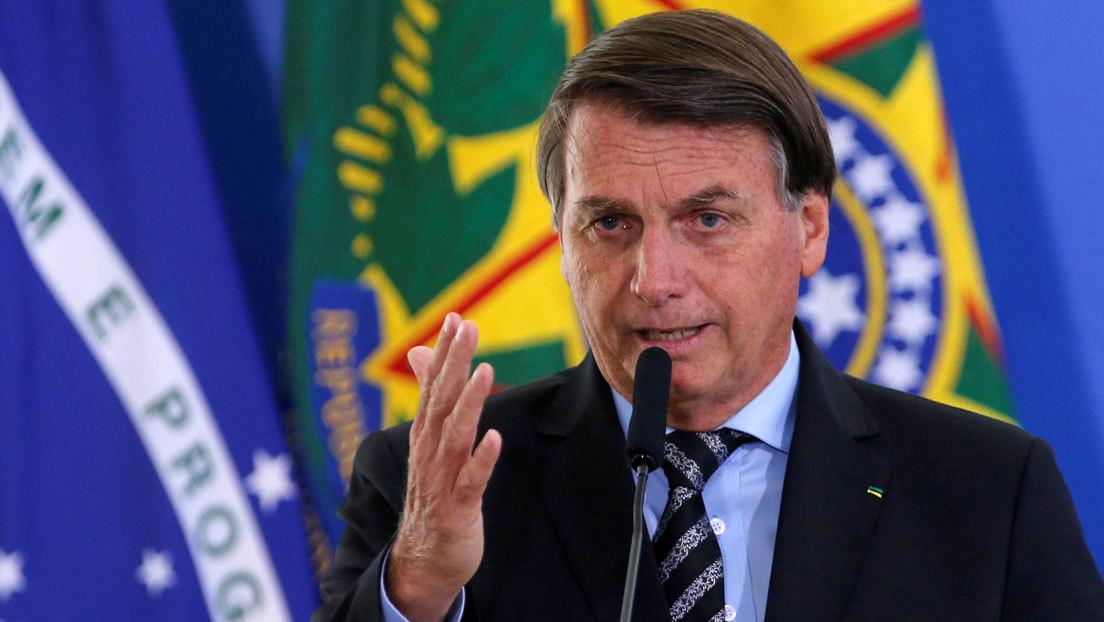 Bolsonaro anuncia que China enviará 5.400 litros de insumos a Brasil para la fabricación de la CoronaVac