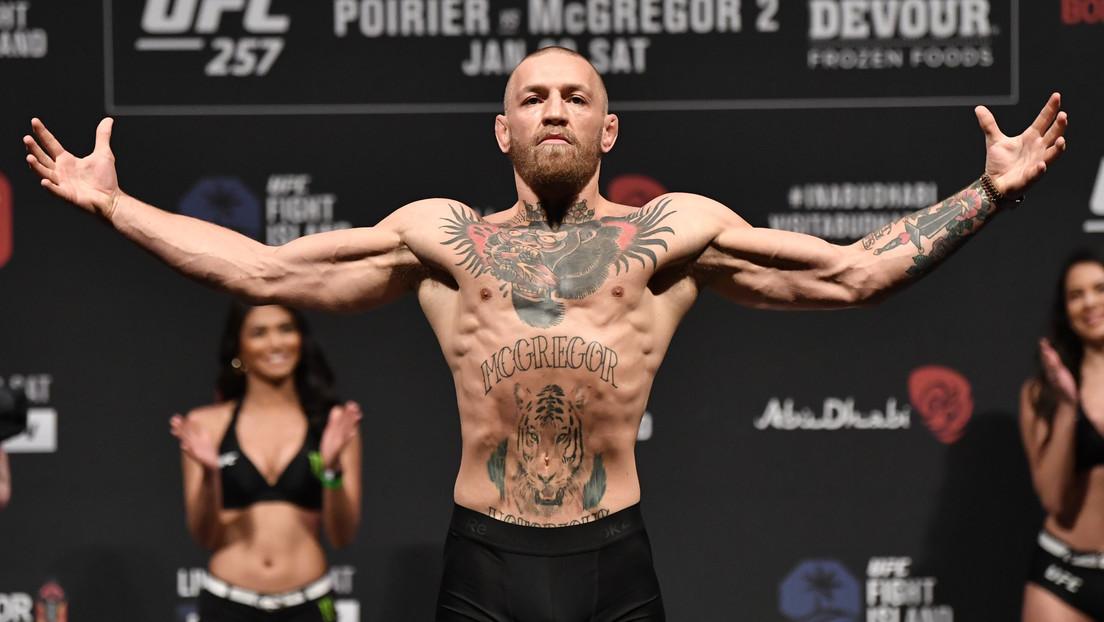 """Entrenador de McGregor: """"Conor ya está acosando a todo el mundo para lograr una tercera pelea contra Dustin Poirier"""""""