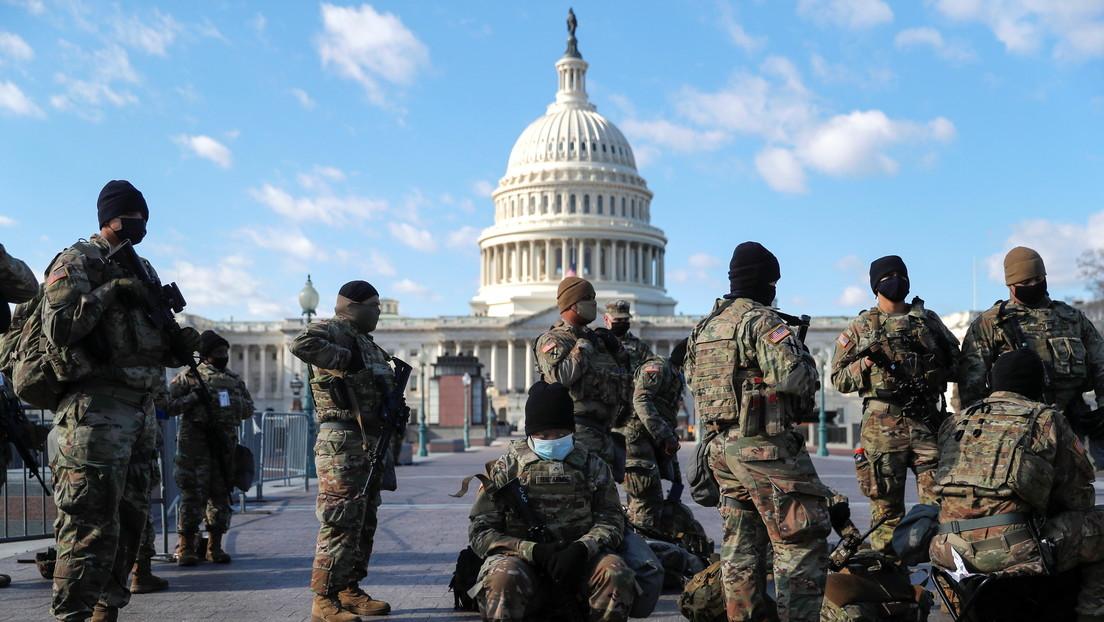 Al menos 5.000 miembros de la Guardia Nacional permanecerán en Washington hasta marzo