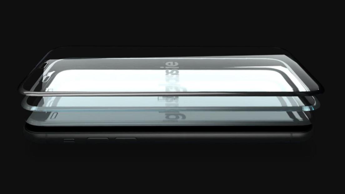 """Lanzan un protector de pantalla """"invisible"""" con imágenes que solo pueden verse con el teléfono apagado (VIDEOS)"""