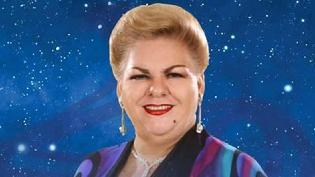 La cantante mexicana Paquita la del Barrio se registra como precandidata a diputada en Veracruz