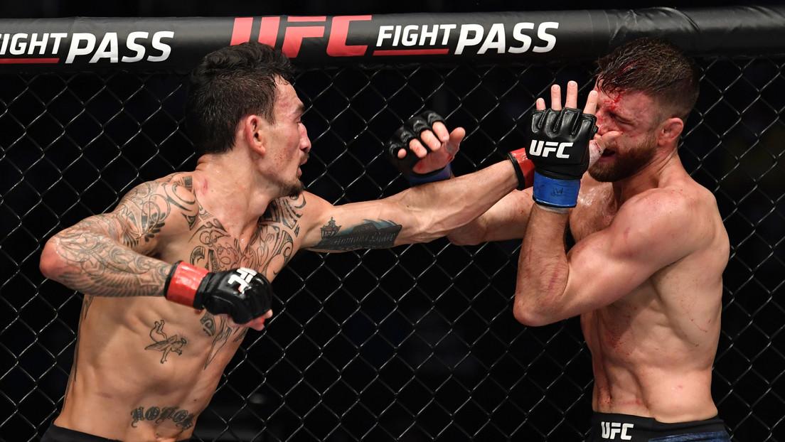"""""""Le han dado tal paliza que estoy un poco asustado"""": momento en que el jefe de la UFC teme por la vida de un luchador durante el combate"""