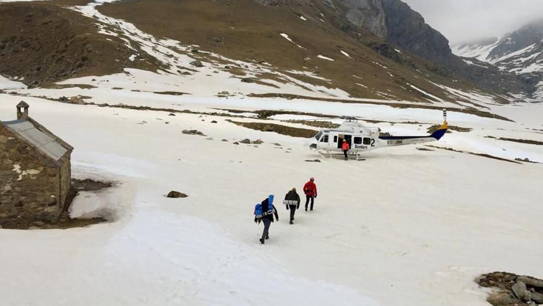 Dos excursionistas tendrán que pagar más de 3.000 dólares por su propio rescate en España