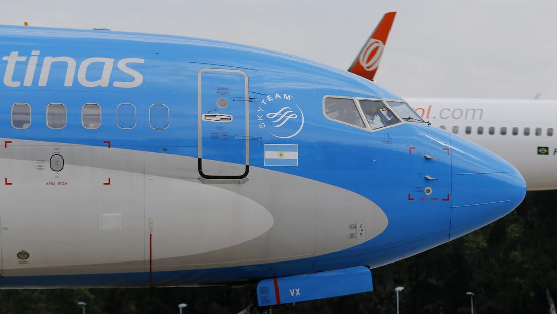 Parte rumbo a Moscú el tercer vuelo de Aerolíneas Argentinas para buscar un nuevo cargamento de la vacuna Sputnik V
