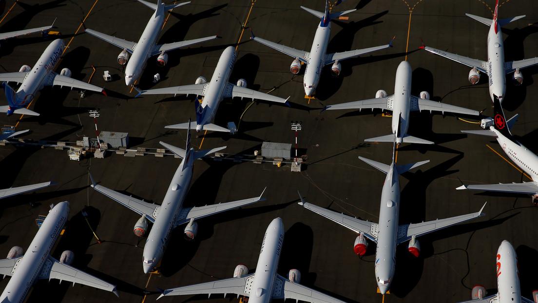 Boeing registra pérdidas anuales récord en su historia