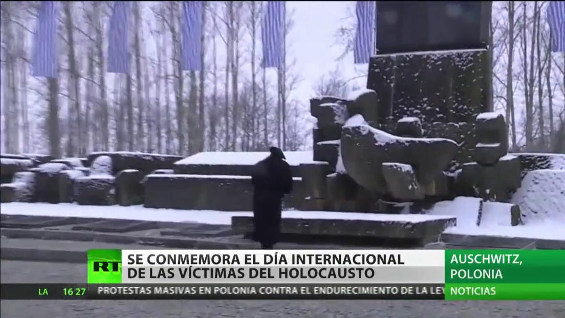 Se conmemora el Día Internacional de las Víctimas del Holocausto