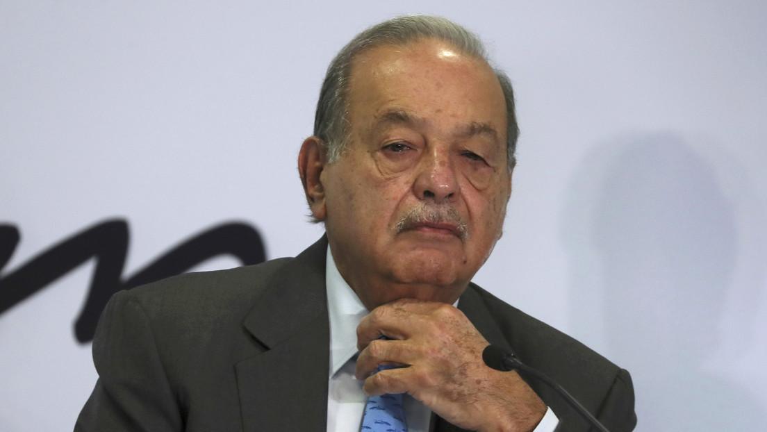 Carlos Slim, el hombre más rico de México, hospitalizado por covid-19