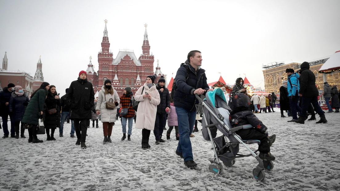 """Putin declara que la pandemia """"remite gradualmente"""" en Rusia"""