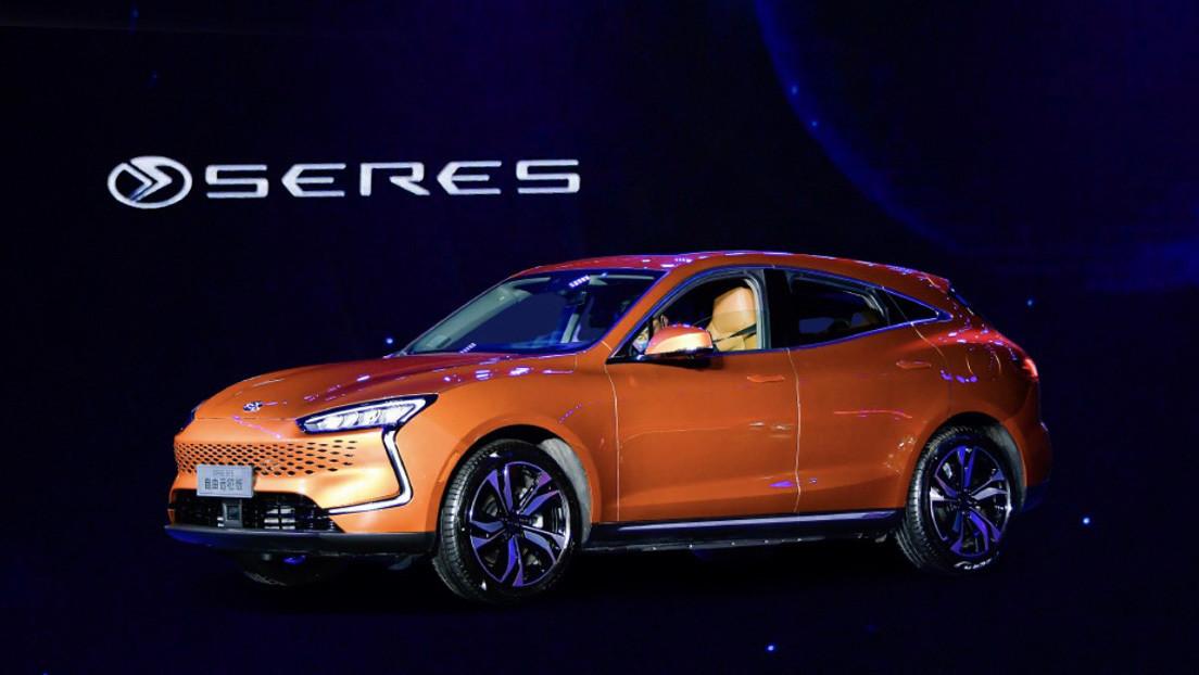 Presentan el primer coche eléctrico impulsado por un sistema de propulsión de Huawei (FOTOS)