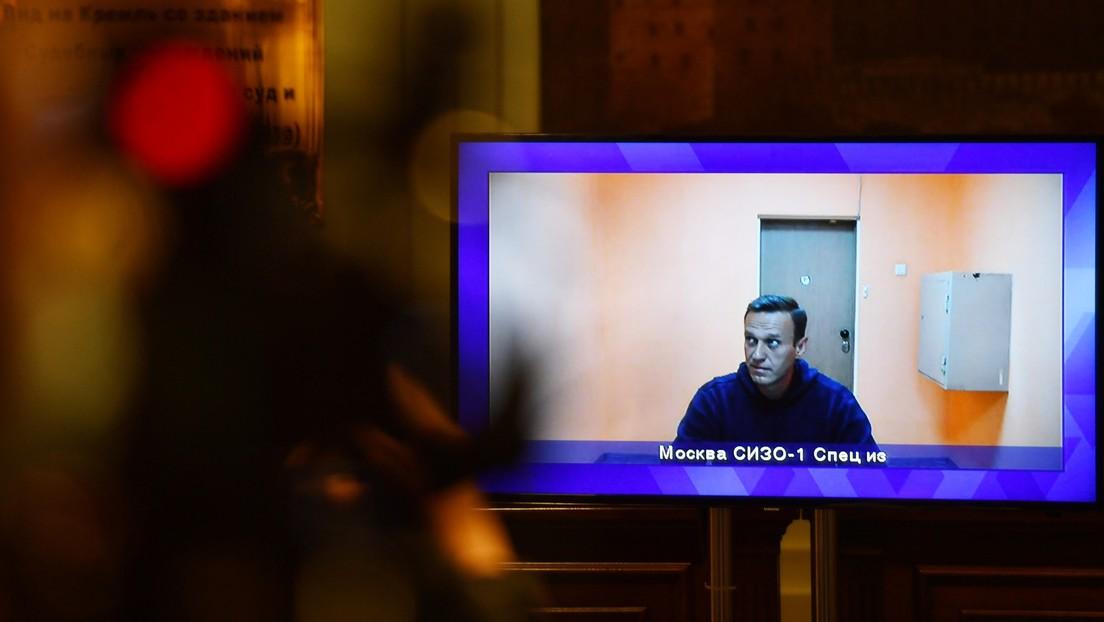 Consideran legítimo el arresto de Alexéi Navalny en una audiencia judicial