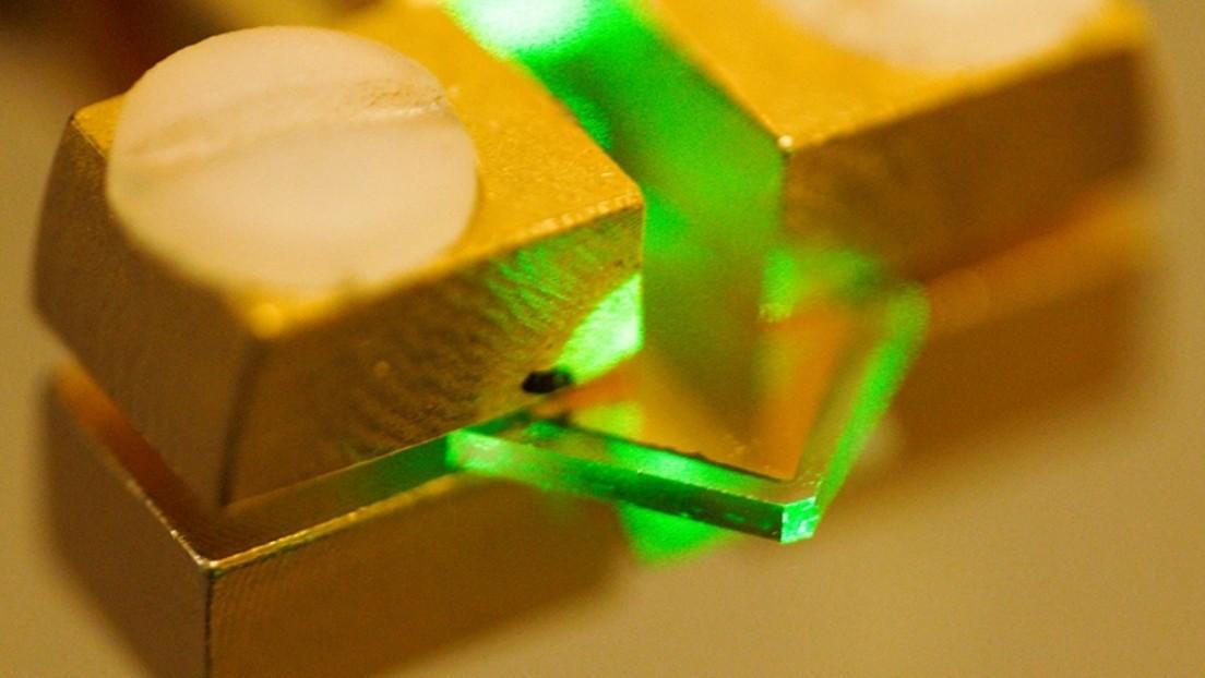 Fracasa un intento de triturar diamantes con láseres a fuerzas mayores que las que se registran en el núcleo de la Tierra