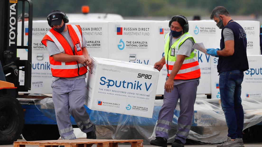 Aterriza en Argentina el vuelo con el tercer cargamento de la vacuna rusa Sputnik V