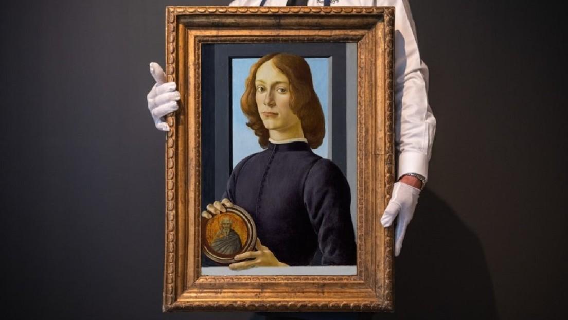 En más de 92 millones de dólares se subasta una obra de Botticelli, que se convierte así en una de las más costosas de la historia