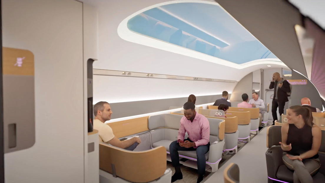 VIDEO: Así sería viajar a bordo del ultraveloz tren futurista Hyperloop de Virgin