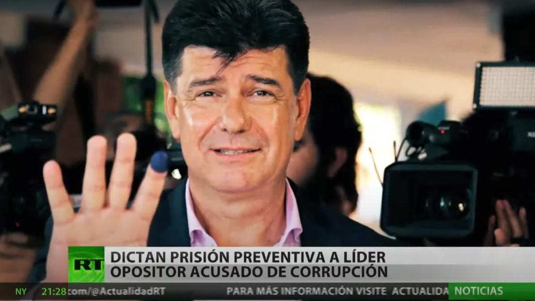 Dictan prisión preventiva contra un líder opositor paraguayo acusado de corrupción