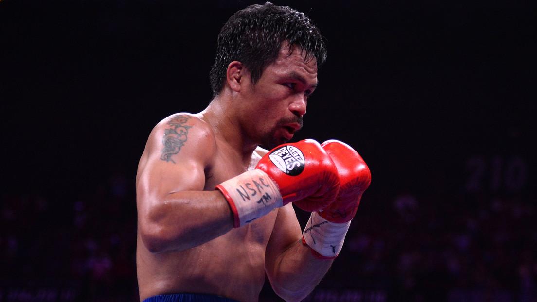 Manny Pacquiao no está por ahora interesado en pelear contra Conor McGregor