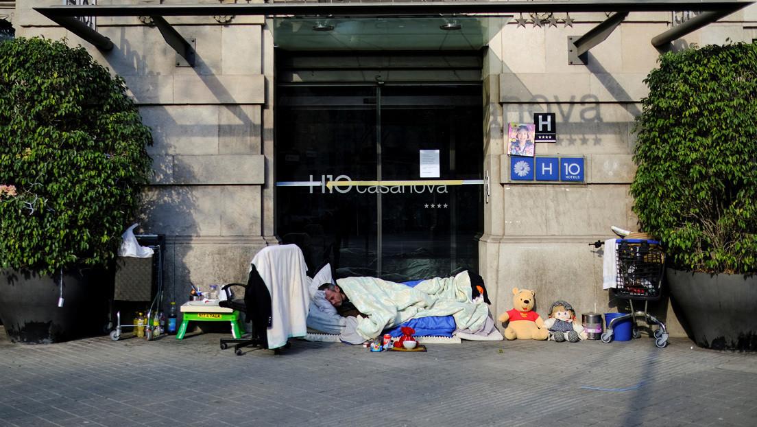 La economía de España se contrajo un 11 % en 2020, el peor dato en la historia de su democracia