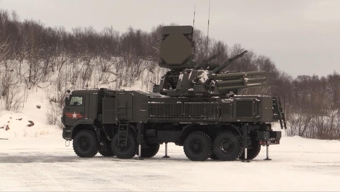 VIDEO: Los primeros ejercicios integrales de la Flota del Norte rusa para repeler un ataque de drones