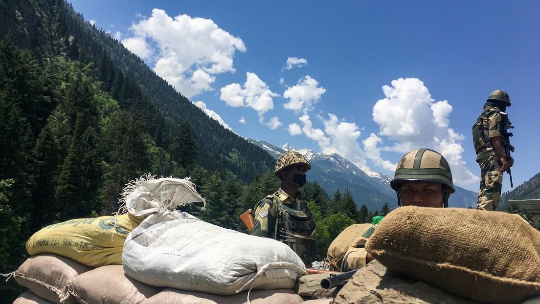 La India aumenta su presencia militar en la frontera en disputa con China