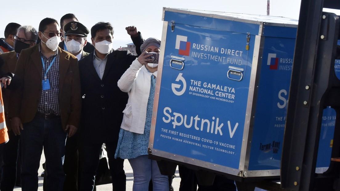 Bolivia comienza la vacunación contra el coronavirus con Sputnik V