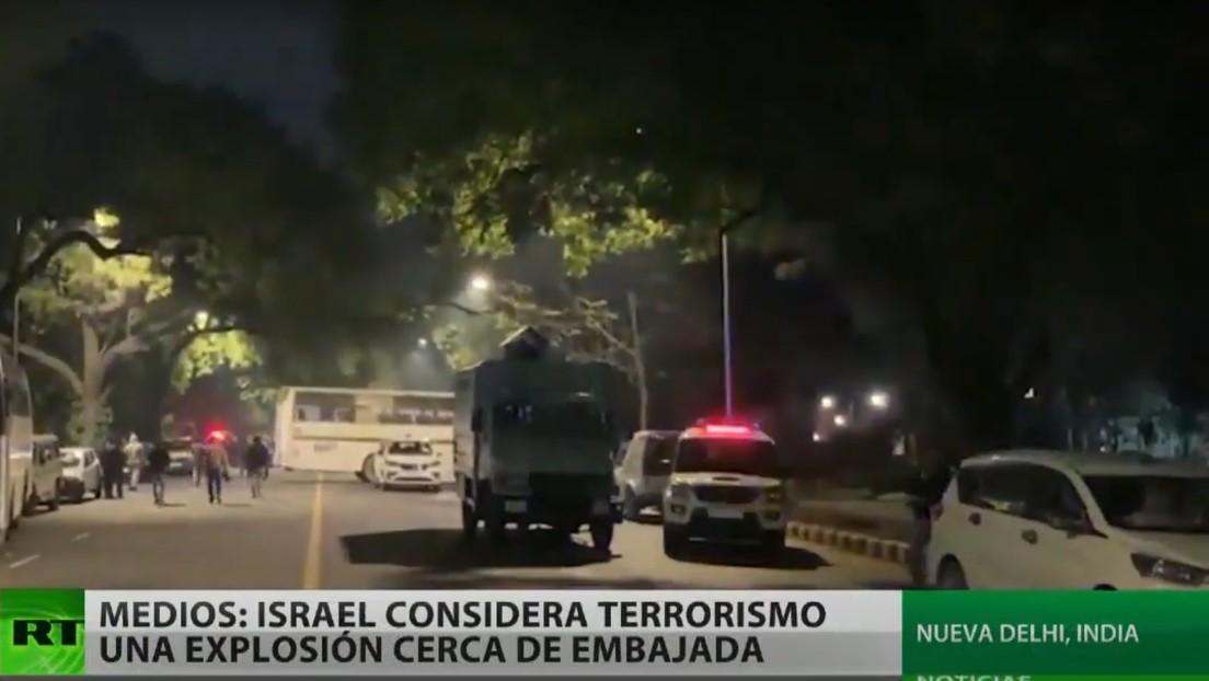 Israel califica de atentado terrorista la explosión de una bomba cerca de su embajada en la India