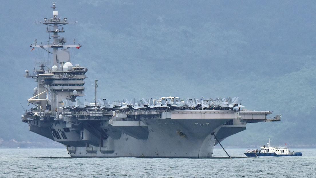 """EE.UU.: """"Los vuelos chinos sobre el mar de la China Meridional se ajustan a un patrón de comportamiento desestabilizador y agresivo de Pekín"""""""