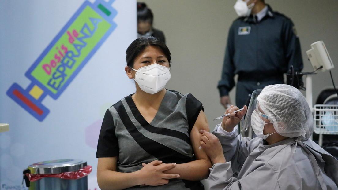 """Arce anuncia que Bolivia recibirá en febrero """"casi un millón de vacunas"""" contra el covid-19 a través del mecanismo Covax"""