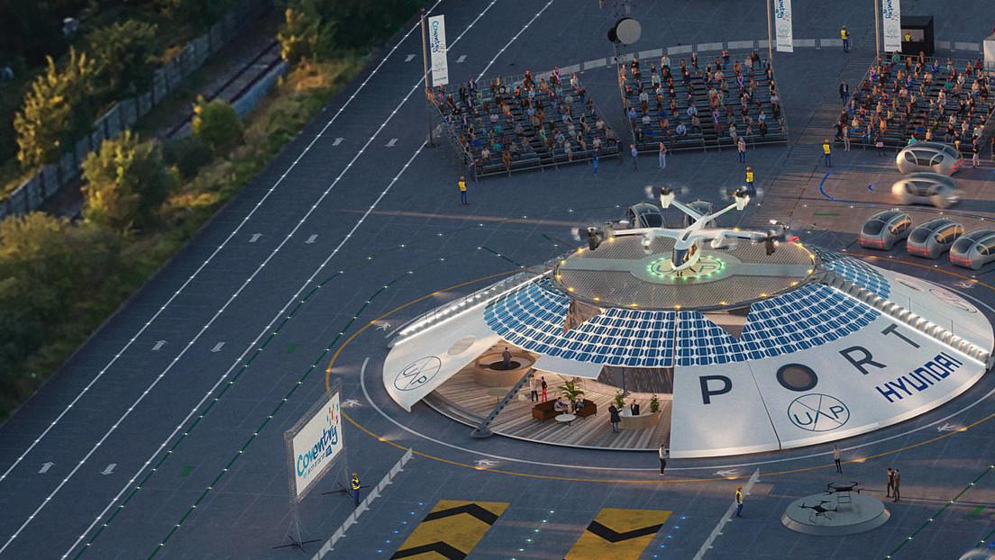 El Reino Unido construirá el primer aeropuerto del mundo para autos voladores (VIDEO)