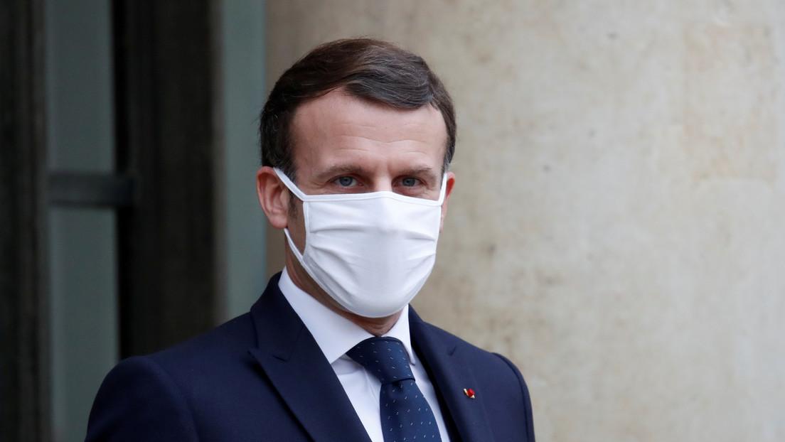 """""""Medio embarazado no es un concepto"""": Macron afirma que el Reino Unido debe elegir si es un aliado de la UE o EE.UU."""
