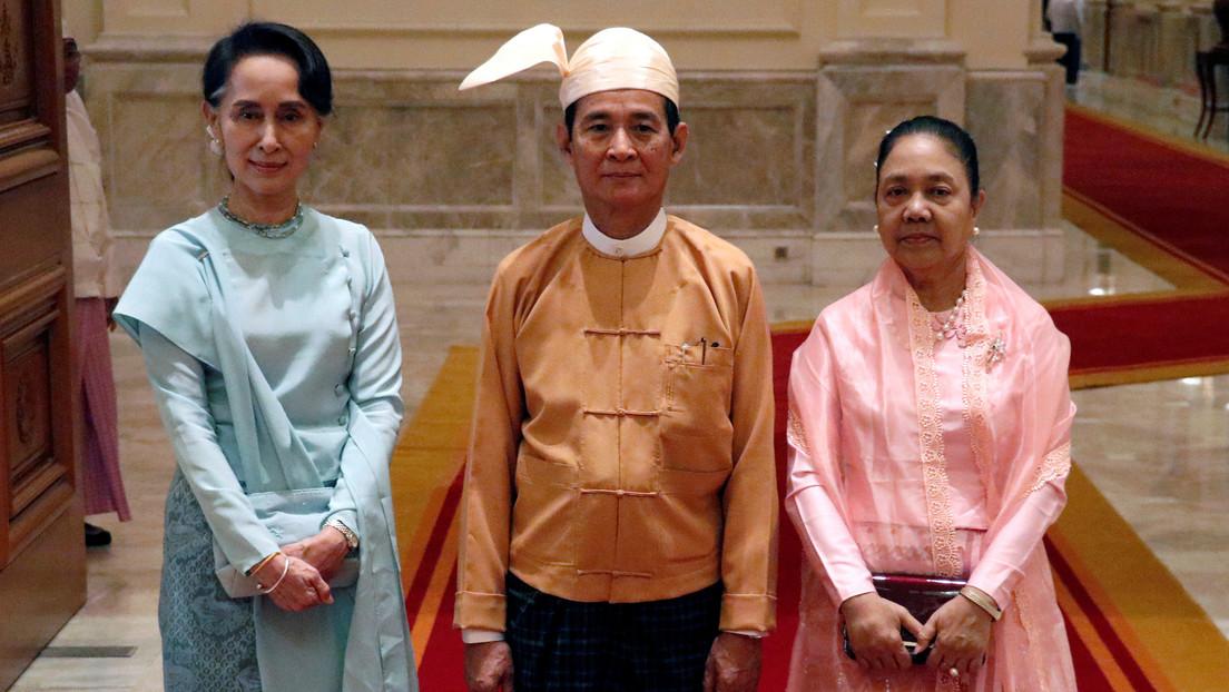 Detienen al presidente de Birmania, la consejera de Estado y otros altos funcionarios en medio de temores de un golpe militar