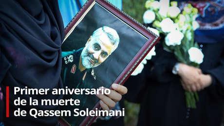 VIDEO: Irán conmemora el primer aniversario de la muerte del general Soleimani