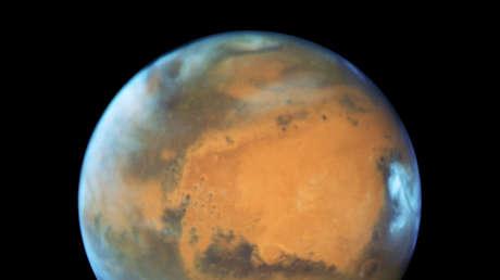Publican nuevas imágenes del cañón más grande del sistema solar, ubicado en Marte (FOTOS)