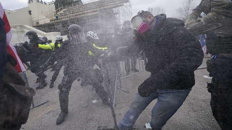 Decretan el toque de queda en el Distrito de Columbia por las protestas en el Capitolio