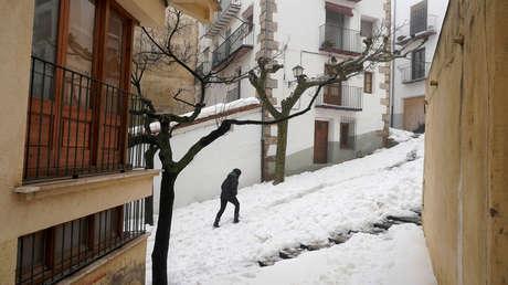 España bate récords históricos de temperaturas mínimas en medio de una borrasca de viento, nieve y lluvias intensas