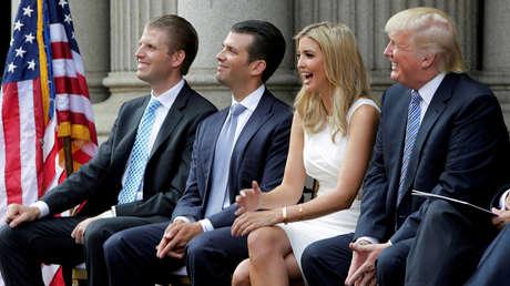 NYT: Trump estaría considerando si concederse un indulto preventivo a sí mismo y a los miembros de su familia