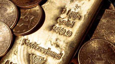 Las reservas internacionales del Banco Central de Rusia tienen por primera vez más oro que dólares